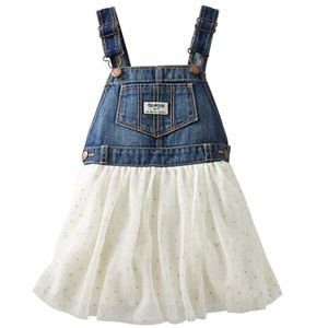 Oshkosh B'gosh Baby Girl Denim Jumper